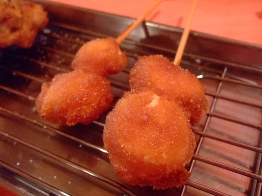 関大前 「串カツ ボンクラ」 サクッと串カツを食べる!!!