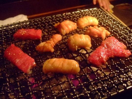 天王寺 「萬野ホルモン舗」 娘の誕生日に焼肉を頂きました!