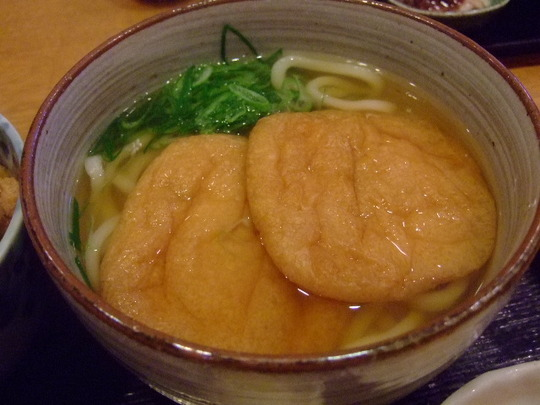 江坂 「紅葉庵」 北摂№1のきつねうどんがムッチャ旨い!