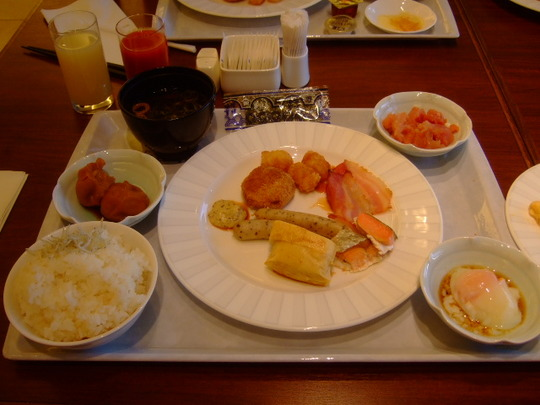 淡路島・夢舞台「ウエスティン淡路・コッコラーレ」ブッフェ朝食