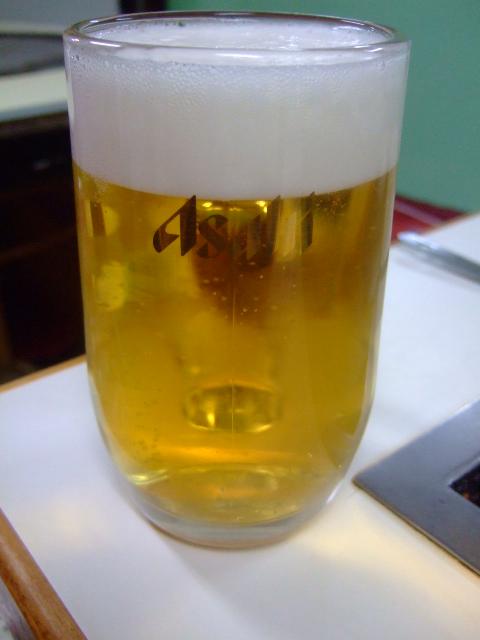 福島 「かく庄」 ビールと特焼きは相性バッチリです!!!