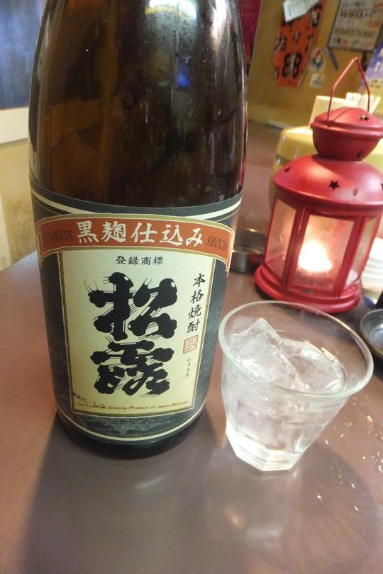 天満 「かんちゃん」 赤身の生ミンククジラの造りが旨い!!!