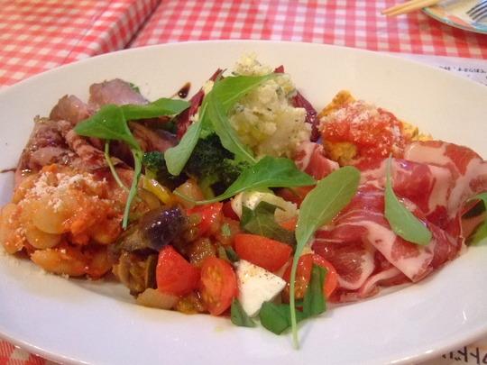桃谷 「ポモドーロ フレスカ」 イタリアの釜のピッツァが旨い