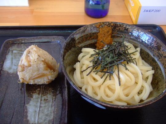 堺 栂・美木多「とんがらし」巡礼第11弾 生七味と醤油うどん