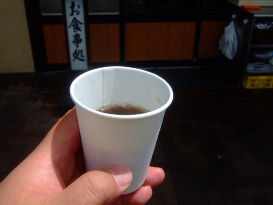 大国町・木津市場 「うどん 大和」 ボリューム満点の海老天丼