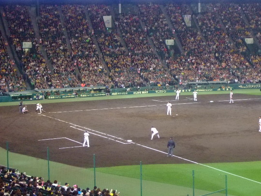 西宮・甲子園 「阪神VS読売」 伝統の一戦を観戦してきました