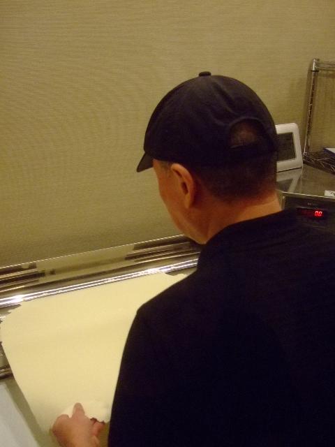 梅田 「釜たけ流 うめだ製麺所」 レセプションに参加しました