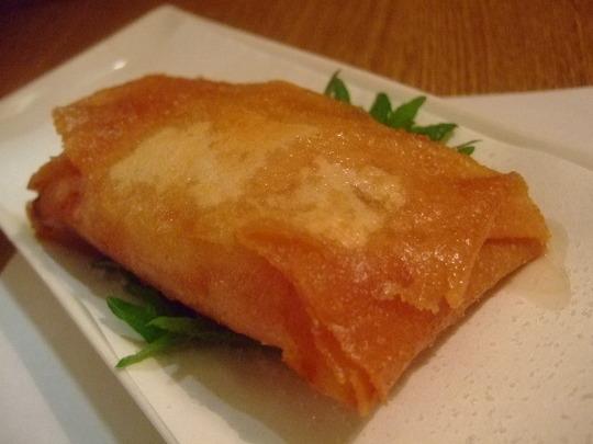 吹田・江坂 「TABARA(タバラ)」 チーズやモチの春巻き
