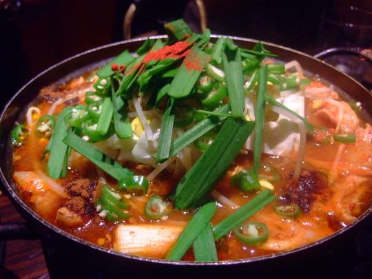 梅田 「コリアンダイニング とんがら」から部で激辛料理に挑戦