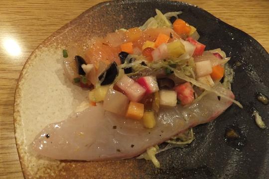 西天満 「かわず」 更に進化した野菜中心の冬の宴会コース!