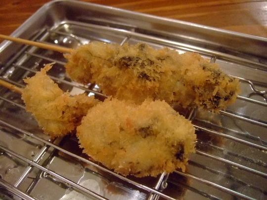 天満 「よってこ」 新地の割烹の技が天満の串カツで味わえます