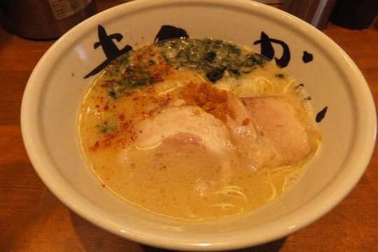 福島 「麺酒家 まんかい」 豚骨スープが更にパワーアップ!!