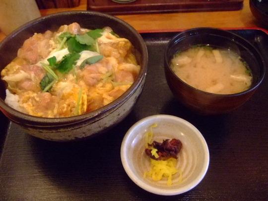 江坂 「和洋折衷 ここ」 阿波尾鶏の親子丼が旨いです!