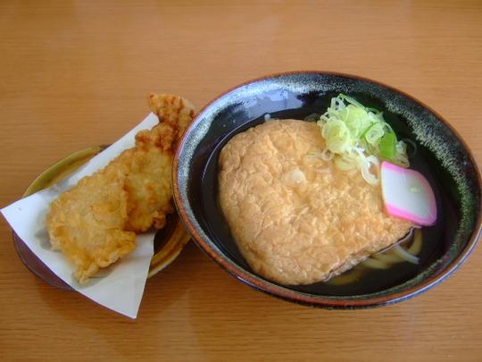 兵庫・加西 「がいな製麺所」 巡礼第42弾 冷しきつねうどん