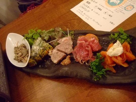 天満 「ペシェドーロ」 イタリア炭焼酒場でお得なコース!!!