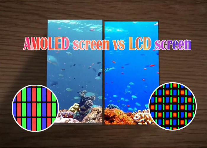 Why AMOLED Display Screen is better than LCD screen
