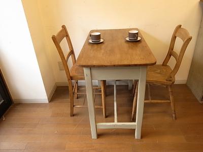 オールドパイン 小さなテーブル