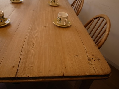 オールドパイン ダイニングテーブル