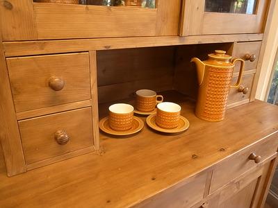 オールドパイン 食器棚