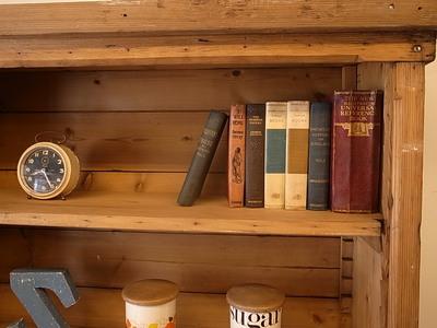 アンティーク家具,オールドパイン,本棚