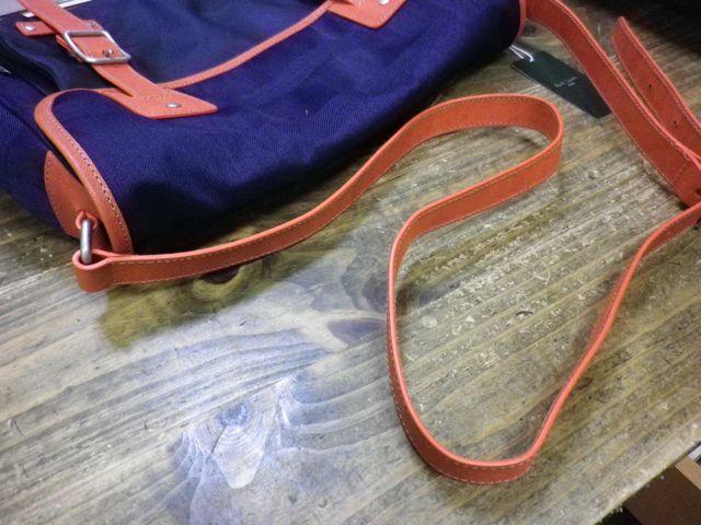 ポールスミスのショルダーバッグのベルトが長過ぎる。。。