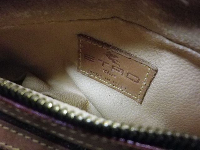 ETRO×セカンドバッグ×内張交換