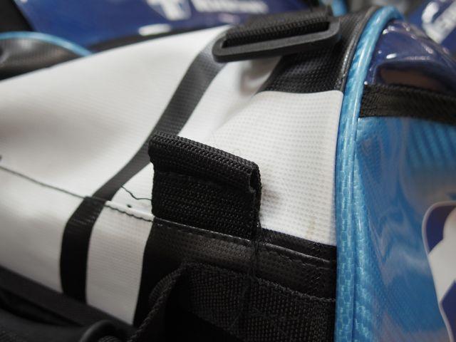 TOALSONのテニスバッグがほつれて、、、