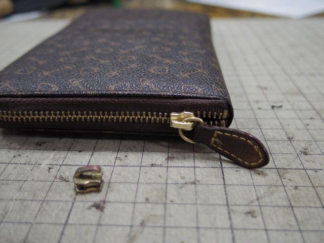 財布のファスナーが閉まらなくなって、、、