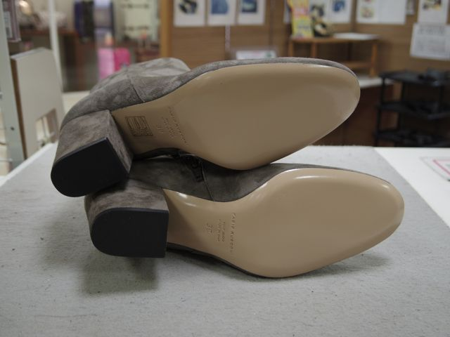 秋に新調したブーツは履く前に、、、