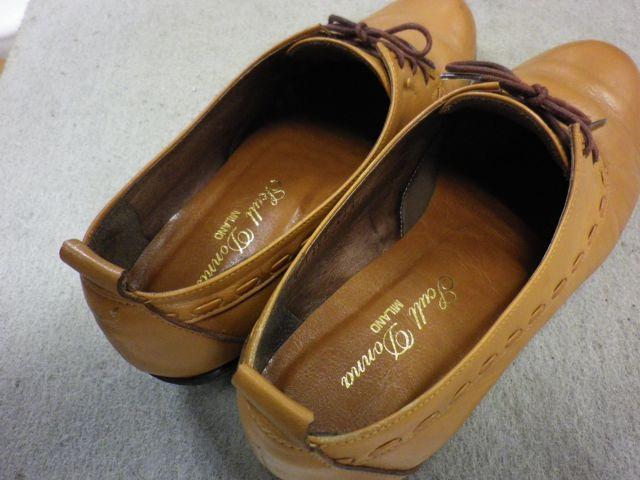 婦人靴×中敷き交換