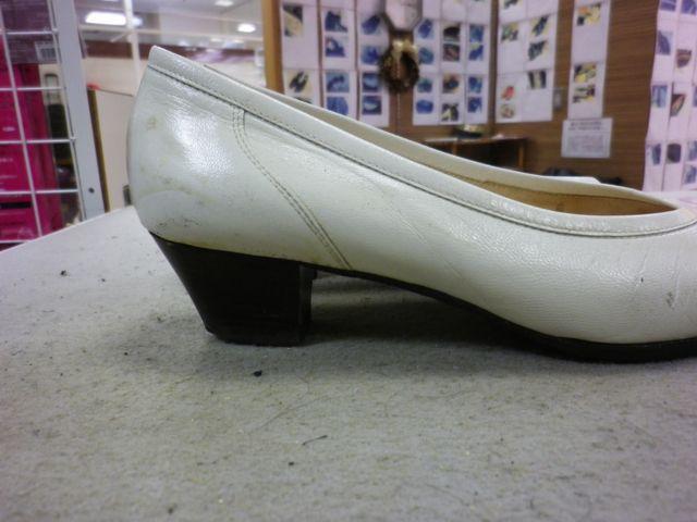 婦人靴×ヒールカット