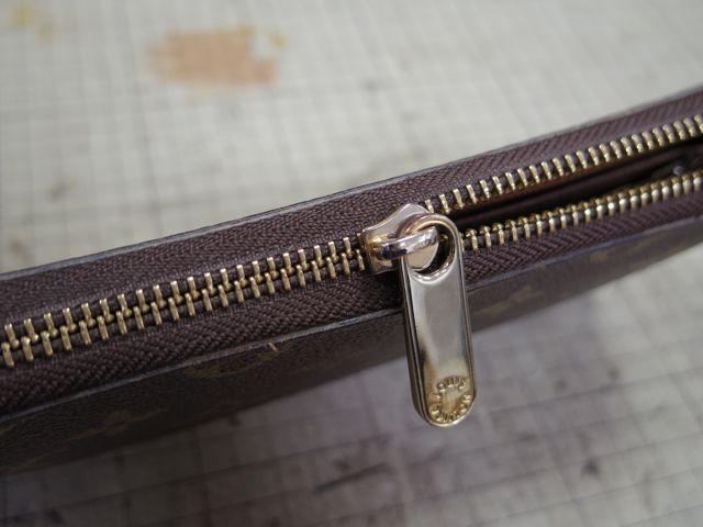 ルイ・ヴィトンの財布のファスナーが甘くて、、