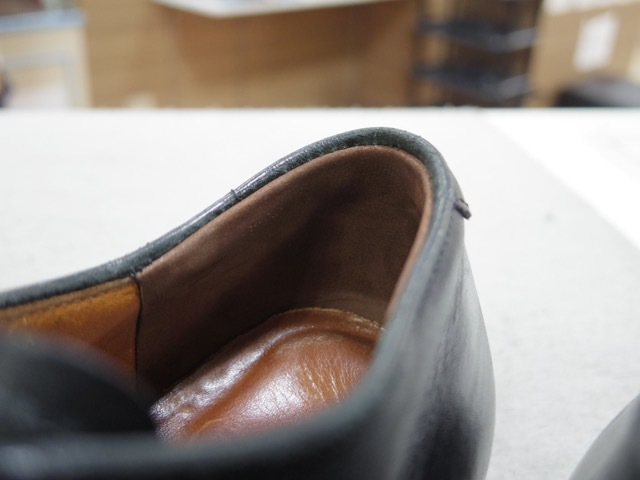 オールデンの履き口補修