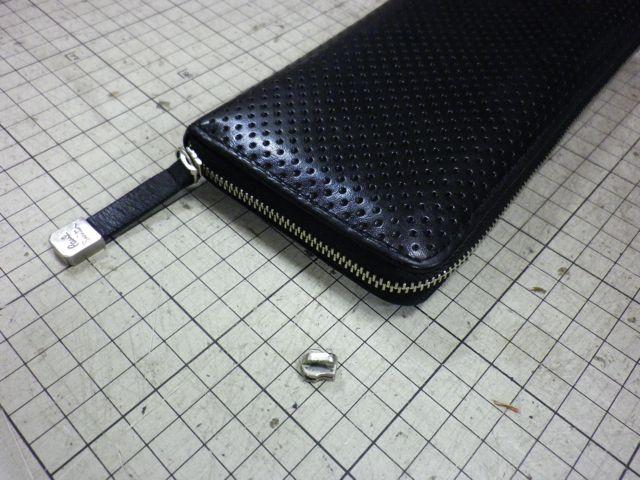ポールスミスの財布のチャックが閉まらない。。。