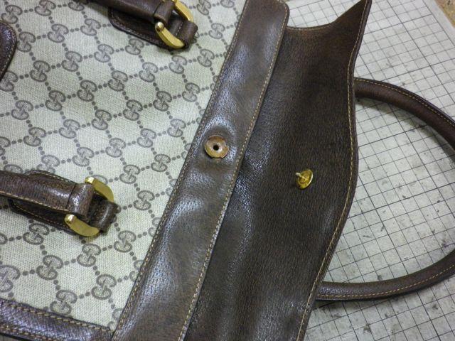 GUCCIのバッグのフラップ留めの金具が。。。。
