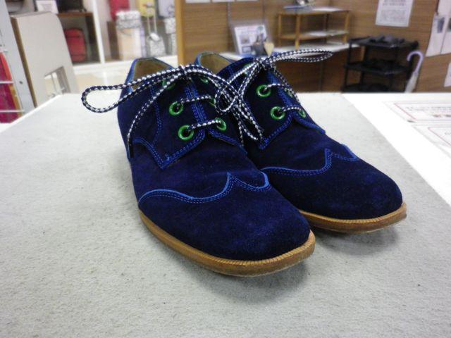 婦人靴×ハーフソール