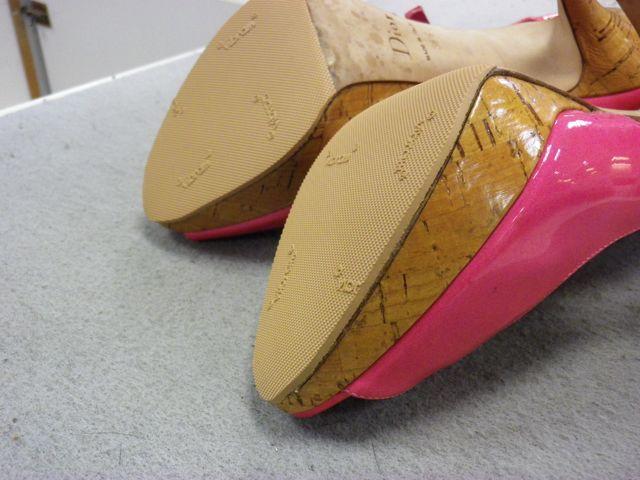 Christian Dior ×ピンヒールリフト交換&ハーフソール