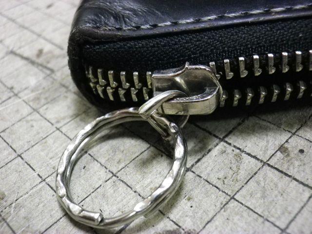 ポールスミスの財布のファスナーが閉まらなくて