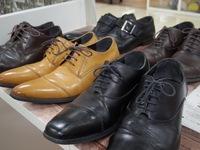 紳士靴のかかと交換
