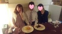 ご成婚お祝いディナ~と、真剣交際2組、プロポーズされている女子2人!!