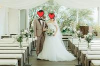結婚式のお写真頂きました(^^)