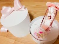 ガラスの靴、でプロポーズ(^^)