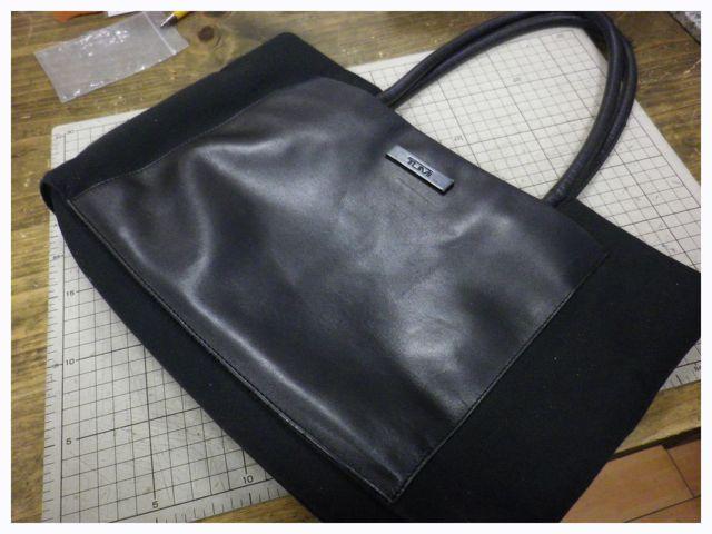 TUMIのハンドバッグの持ち手が・・・