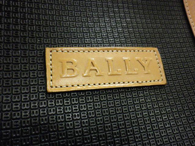 BALLY×ボストンバッグ×ファスナー引き手パーツ交換