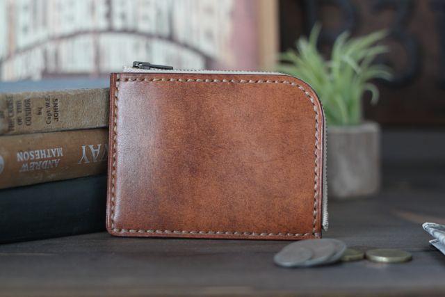 L zip compact wallet『R3FACTORY VINTAGE』