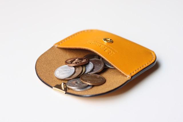 『mimosa coin case』2点追加しました