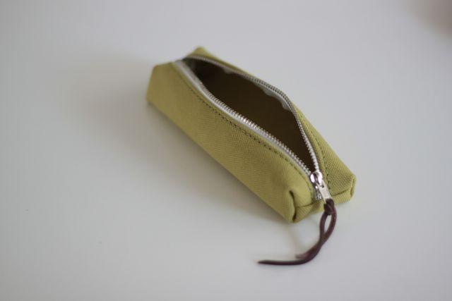 帆布ペンケース
