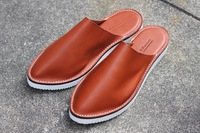 『leather slippers sandals』2点追加