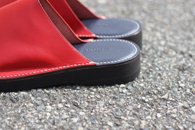『leather slippers sandals』S sizeとL size追加