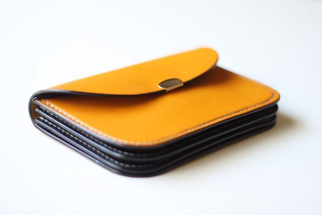 mimosa wallet 3色追加しました